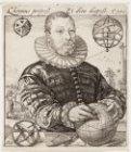 Portret van Nicolaus Petri (vóór 1550-1602)