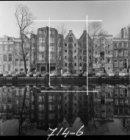 Prinsengracht 530 - 546 v.r.n.l. met op de nummer 534 pakhuis Het Lam en op numm…