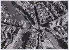 Luchtfoto van het Muntplein en omgeving gezien in zuidoostelijke richting