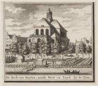De Kerk van Buyten, aande West en Zuid Zy te Zien