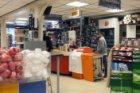 Interieur van kantoorboekhandel Gebroeders Winter, Lijnbaansgracht 204