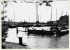Sixhaven. Gezien naar boten in het haven