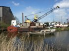 Houthaven ter hoogte van het terrein van RIGA Houtconstructies, Gevleweg 10