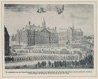De ommegang van den begrafenisstoet [...] van M. Adrzn. de Ruyter in de Nieuwe K…