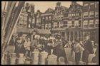Nieuwmarkt met links de Sint Antoniesbreestraat