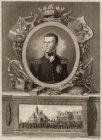 Monument voor Willem Frederik Prins van Oranje met desselfs intreede binnen Amst…