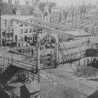 Korte Prinsengracht 31 - 57 met links aansluitend de zijgevel van Haarlemmerstra…