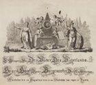 Ter Gedagtenis van Den Vader Des Vaderlands Henrik Hooft Danielsz. Burgemeester …