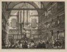 Beweging in de Luthersche Oude Kerk te Amsteldam, by de Aerdbeving, op Biddag, d…