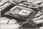Maquette van het Stadhuis en Muziektheater tussen Waterlooplein en Amstel, tento…