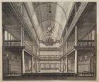 De r.k. schuilkerk van de H. Antonius van Padua (de Mozes en Aäronkerk), gezien …