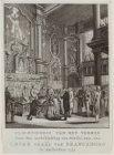 Plechtigheid van het vormen door den Aartsbisschop van Nisibi, enz. enz. Caesar …