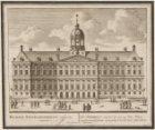 Het Stadhuis, van vooren; aan te sien