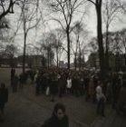 Protestmars: van de Dokwerker naar het monument voor Domela Nieuwenhuis op het N…