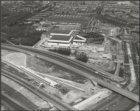 Luchtfoto van de nieuwbouw van het RAI-complex, Europaplein 2-22
