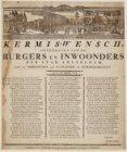 Kermiswens van de bezorgers van kranten en domineesbriefjes ondertekend door de …