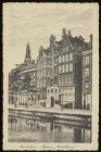 """Oudezijds Voorburgwal 38-46 met op nr. 40 museum Amstelkring, """"Onze Lieve Heer o…"""