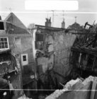 Rembrandtplein 20 - 22, na de brand van 30 december 1968