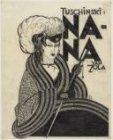 """Ontwerp voor affiche  in Theater Tuschinski voor de film """" Nana van Zola"""" van Je…"""