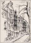Amsterdam | Kromme Waal no 20 | Het pakhuis met de spreuken