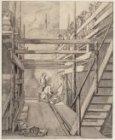 Het leggen van de eerste steen op 23 juni 1787 door Cornelis Sebille Roos bij de…