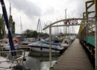 Toegangspoort WVDS (Watersport Vereniging Dok en Scheepsbouw), Sixhavenweg 15