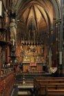 Interieur rooms-katholieke Onze Lieve Vrouwekerk (Redemptoristenkerk), Keizersgr…