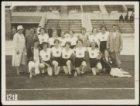 Olympische Spelen 1928. Groepsportret van de Nederlandse damesploeg hardlopen in…