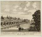 De Heere-Gracht; van de Uitersche-straat siende naar den Amstel