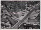 Luchtfoto van de Singelgracht en omgeving gezien in zuidwestelijke richting