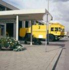 Twee brandweervoertuigen van Saval Kronenburg voor de brandweerkazerne op Schiph…