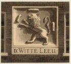 Gevelsteen 'De Witte Leeuw', Nieuwe Uilenburgerstraat 3