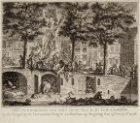 De plundering van het huis van belastingpachter A.M. van Arssen en de daaronder …
