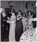 25-jarig huwelijksfeest van koningin Juliana en prins Bernhard samen met de prin…