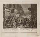 Moedwil aan het Sterfhuis van Daniël Raap 15 Jan. 1754