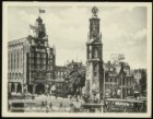 Het Muntplein met Munttoren en Muntgebouw