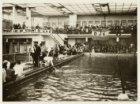 Wedstrijdzwemmen door onder andere zwemvereniging D.J.K. in het Sportfondsenbad,…