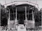 Renovatie van de muziektent in het Vondelpark: het nieuwe dak is geplaatst