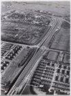 Luchtfoto van de Gooiseweg en omgeving gezien in zuidoostelijke richting