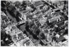 Luchtfoto van de Keizersgracht (midden) en omgeving gezien in zuidwestelijke ric…