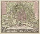 Accurater Grundriss und Prospect der Weltberühmten Holandischen Haupt und Handel…