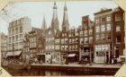 Oude huizen aan de Korte Prinsengracht bij de Haarlemmerstraat - merendeels afge…