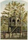 """De Dooltuin met koepel in het """"Oude Doolhof"""", Prinsengracht 338 hoek Looiersgrac…"""