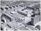 Luchtfoto van Slotermeer met  Plein '40-'45, gezien naar het noordoosten