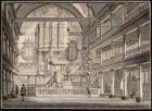 Het interieur van de Oude Lutherse Kerk, Singel 411