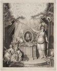 Zinneprent van Hendrik Danielsz. Hooft (1716-1794), schepen en burgemeester van …