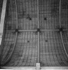 Dam 12, plafondschildering in een zijbeuk van de Nieuwe Kerk