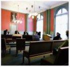 Prinsengracht 436 met het interieur van het Paleis van Justitie
