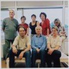 Kortvoort 100; groepsfoto van Toneelgroep K-Oulissen