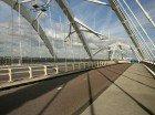 De Ennaeüs Heermabrug, gezien naar IJburg